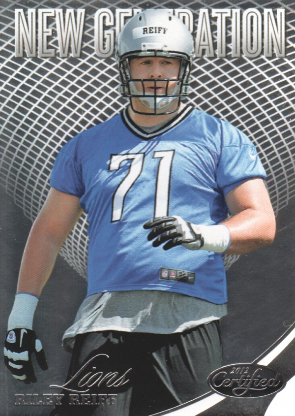 2012 Certified #300 Riley Reiff RC