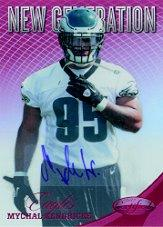 2012 Certified Mirror Red Signatures #296 Mychal Kendricks/250
