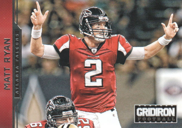 2012 Gridiron #11 Matt Ryan