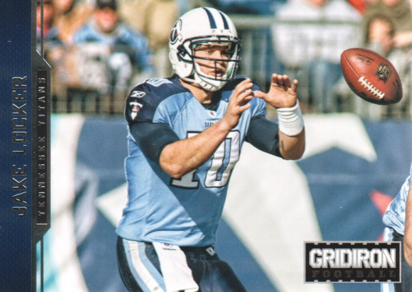 2012 Gridiron #189 Jake Locker