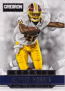 2012 Gridiron #201 Alfred Morris RC