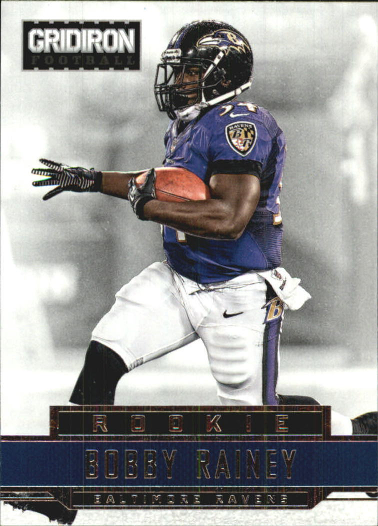 2012 Gridiron #206 Bobby Rainey RC