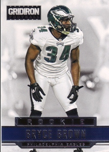 2012 Gridiron #211 Bryce Brown RC