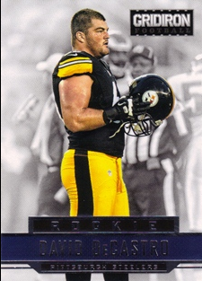 2012 Gridiron #224 David DeCastro RC