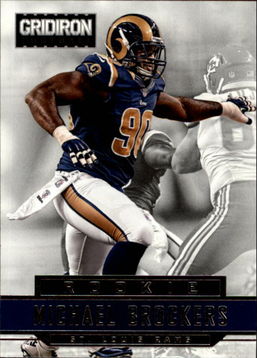 2012 Gridiron #267 Michael Brockers RC