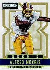 2012 Gridiron Gold X's #201 Alfred Morris