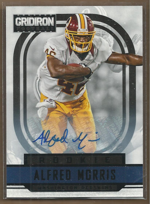 2012 Gridiron Rookie Autographs O's #201 Alfred Morris