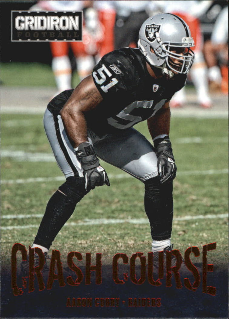 2012 Gridiron Crash Course #15 Aaron Curry