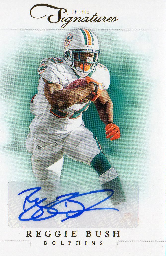 2012 Prime Signatures Autographs Gold #50 Reggie Bush/10