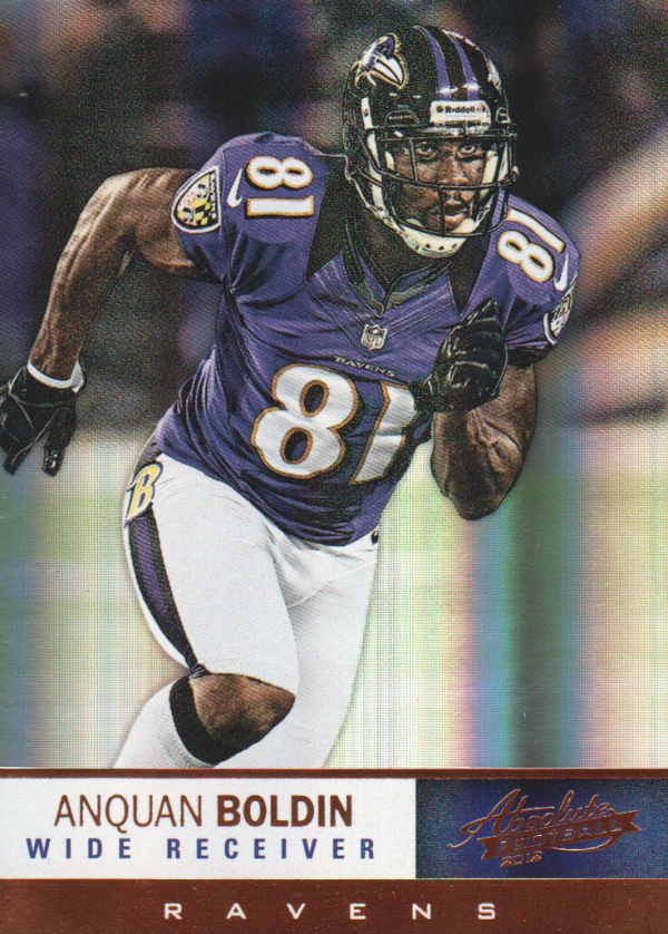 2012 Absolute #5 Anquan Boldin