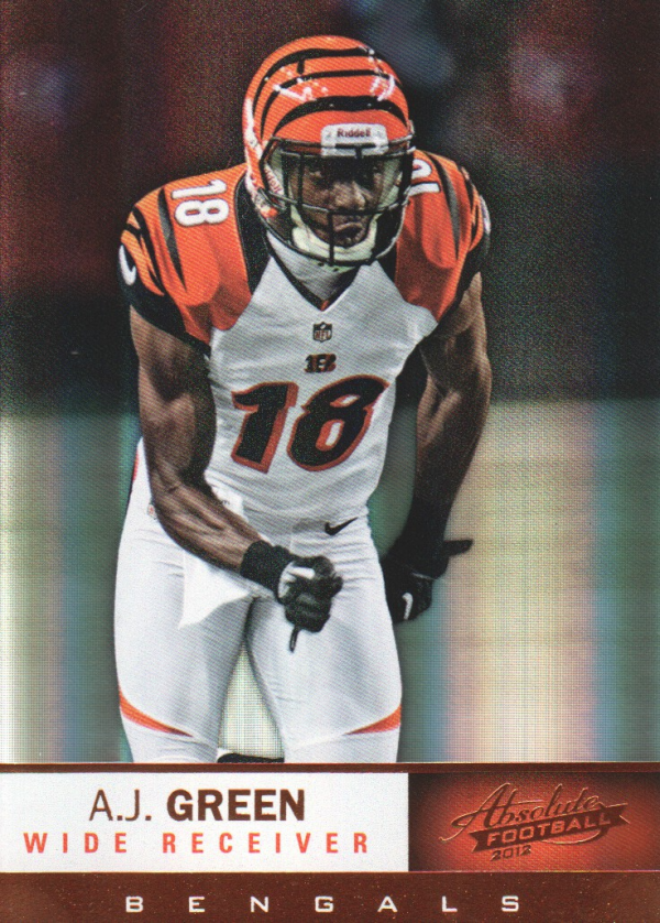 2012 Absolute #9 A.J. Green
