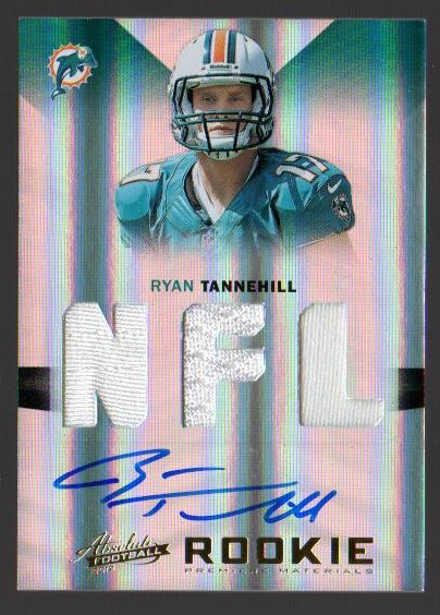 2012 Absolute #232 Ryan Tannehill JSY AU RC