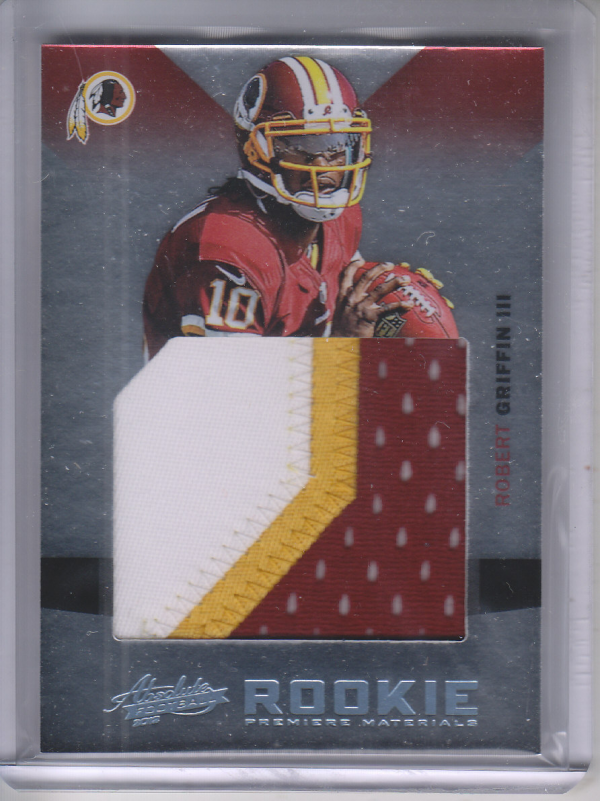 2012 Absolute Rookie Premiere Materials Oversize Prime #226 Robert Griffin III