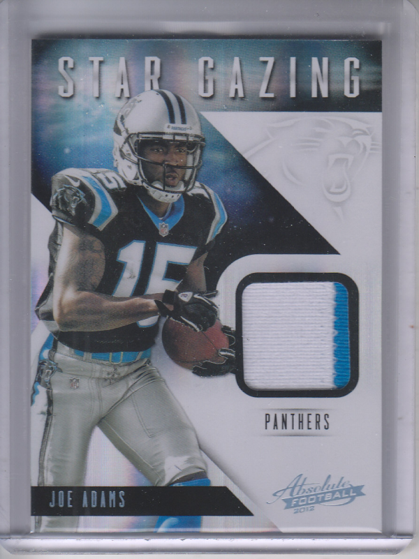 2012 Absolute Star Gazing Materials Prime #17 Joe Adams