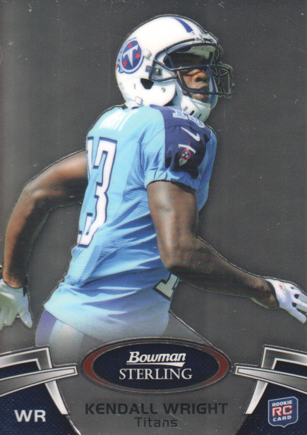 2012 Bowman Sterling #60 Kendall Wright RC