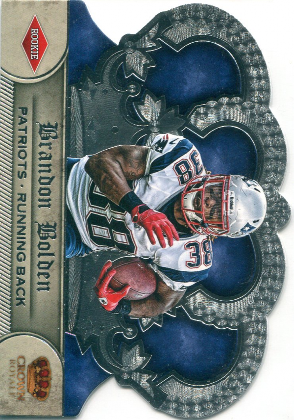 2012 Crown Royale #246 Brandon Bolden RC