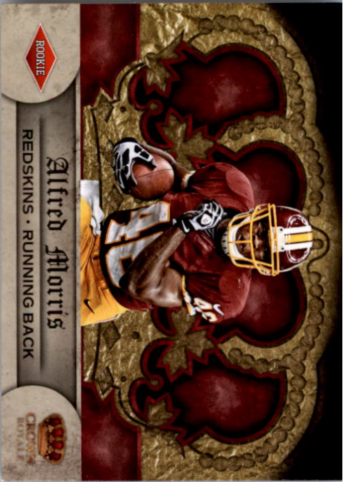 2012 Crown Royale Retail #151 Alfred Morris RC