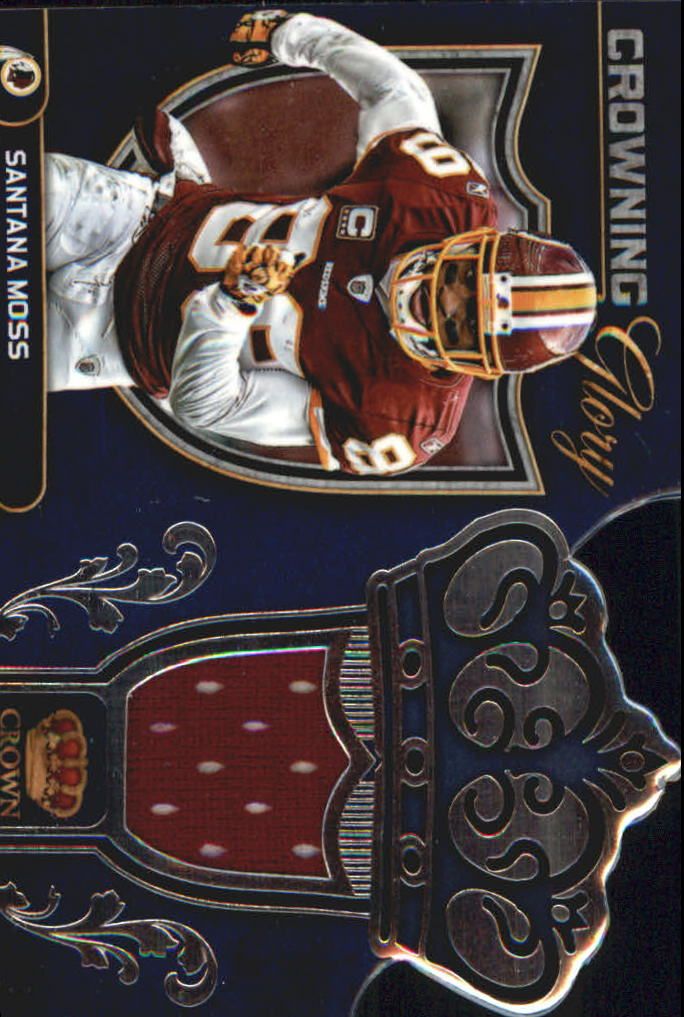 2012 Crown Royale Crowning Glory Materials #15 Santana Moss/99