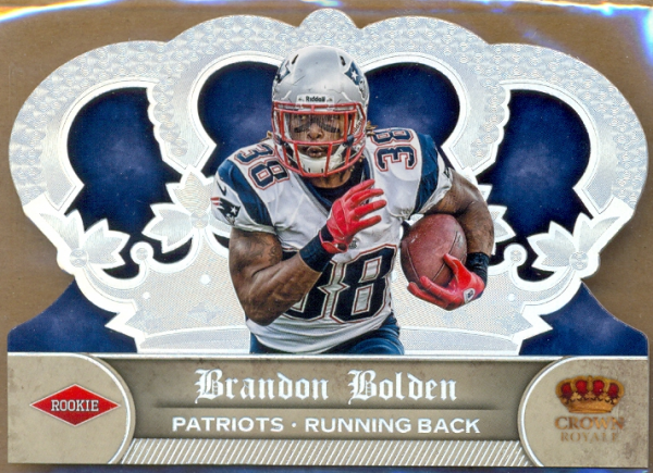 2012 Crown Royale Silver Holofoil #246 Brandon Bolden