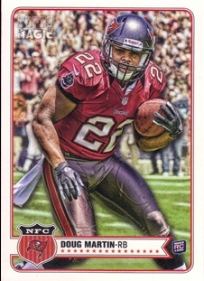2012 Topps Magic #78 Doug Martin RC