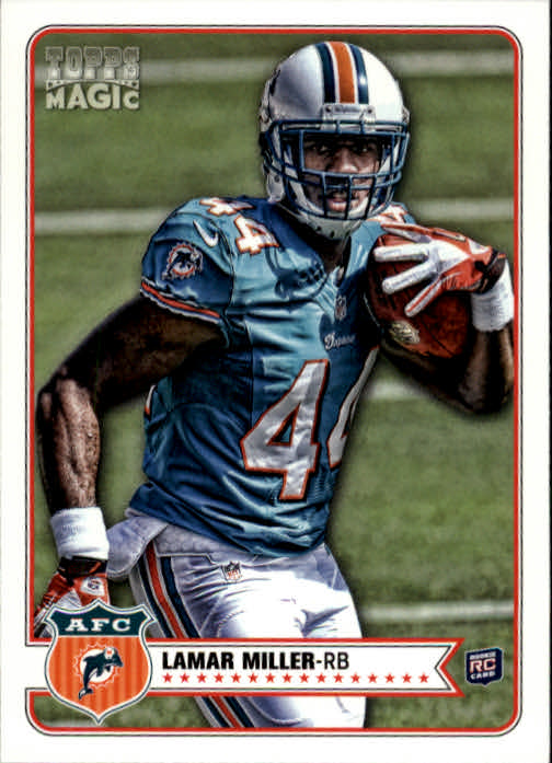 2012 Topps Magic #82 Lamar Miller RC