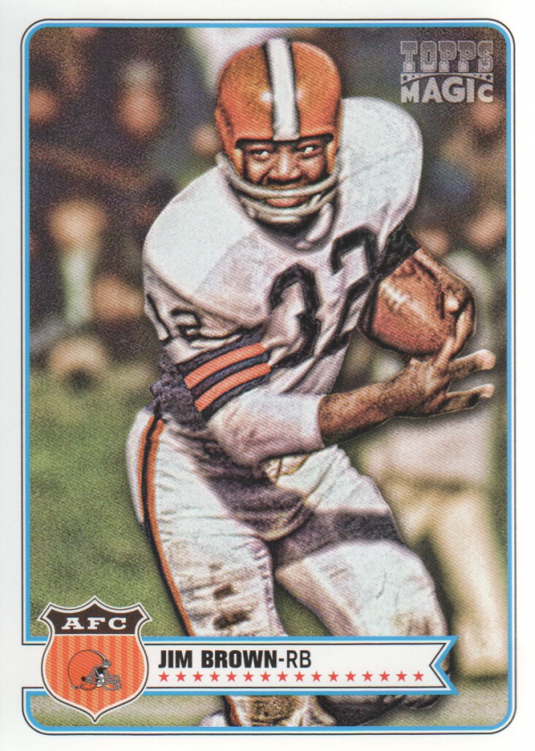 2012 Topps Magic #217 Jim Brown