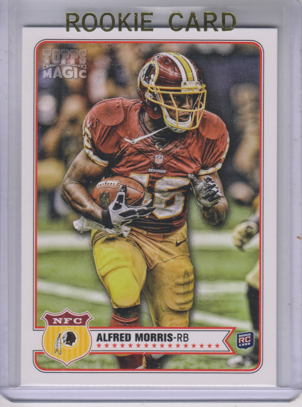 2012 Topps Magic #227 Alfred Morris RC