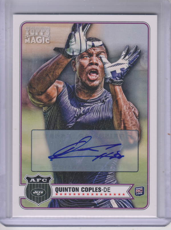 2012 Topps Magic Autographs #23 Quinton Coples