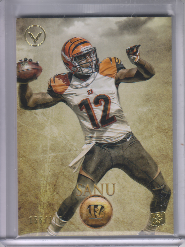 2012 Topps Valor #22 Mohamed Sanu RC