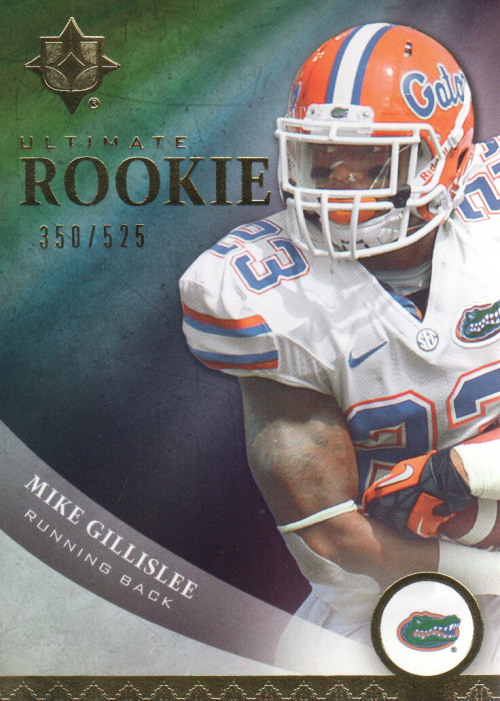 2013 Upper Deck Ultimate Collection Inserts #58 Mike Gillislee