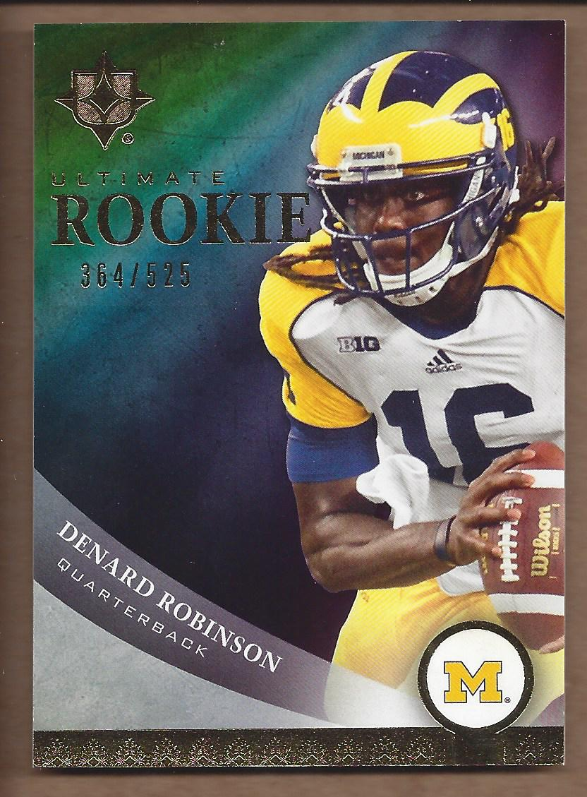 2013 Upper Deck Ultimate Collection Inserts #59 Denard Robinson