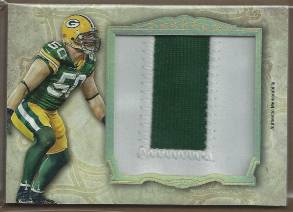 2012 Topps Five Star Jumbo Jerseys Five Star 1/1 #FSJJRAJH A.J. Hawk