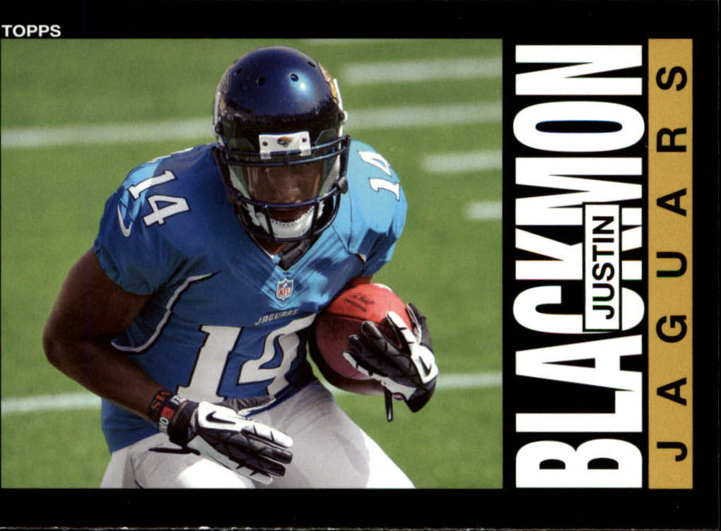 2013 Topps Archives #51A Justin Blackmon/(cutting pose)