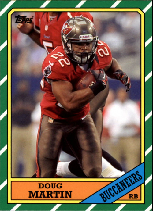 2013 Topps Archives #101A Doug Martin/(current red jersey)