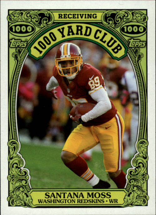 2013 Topps Archives 1000 Yard Club #21 Santana Moss