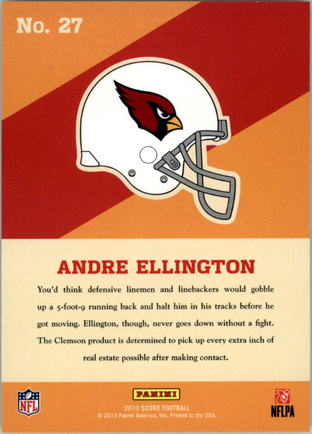 2013 Score Hot Rookies #27 Andre Ellington
