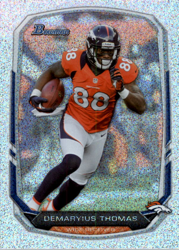 2013 Bowman Silver Ice #18 Demaryius Thomas
