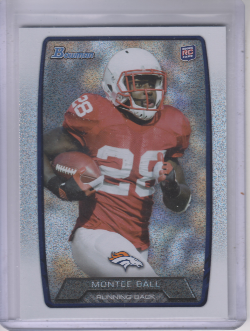 2013 Bowman Silver Ice #135 Montee Ball