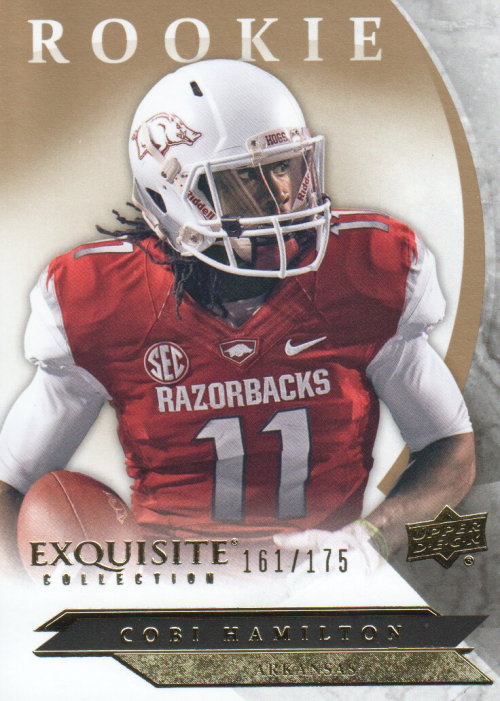 2012 Exquisite Collection Draft Picks #ERCH Cobi Hamilton