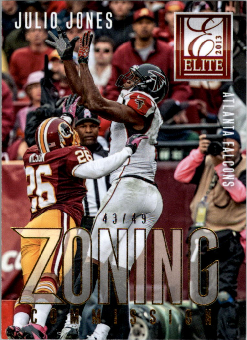 2013 Elite Zoning Commission Gold #19 Julio Jones