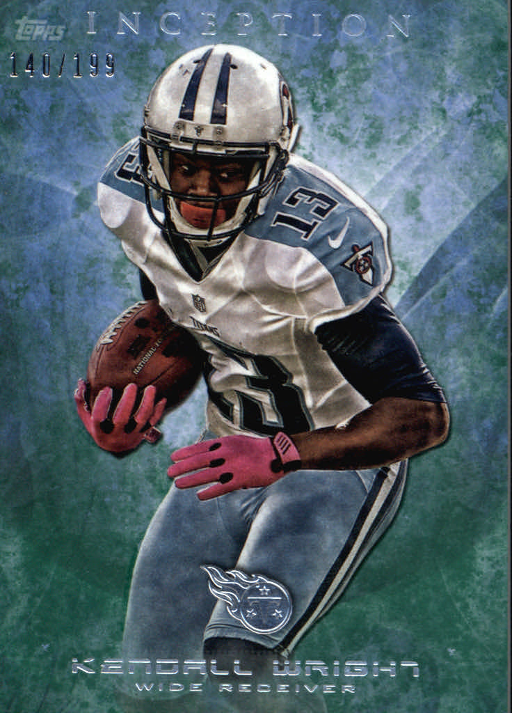 2013 Topps Inception Green #41 Kendall Wright