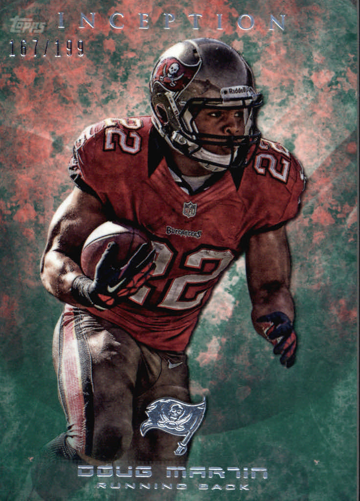 2013 Topps Inception Green #89 Doug Martin
