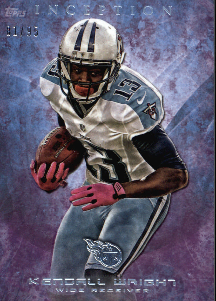 2013 Topps Inception Purple #41 Kendall Wright