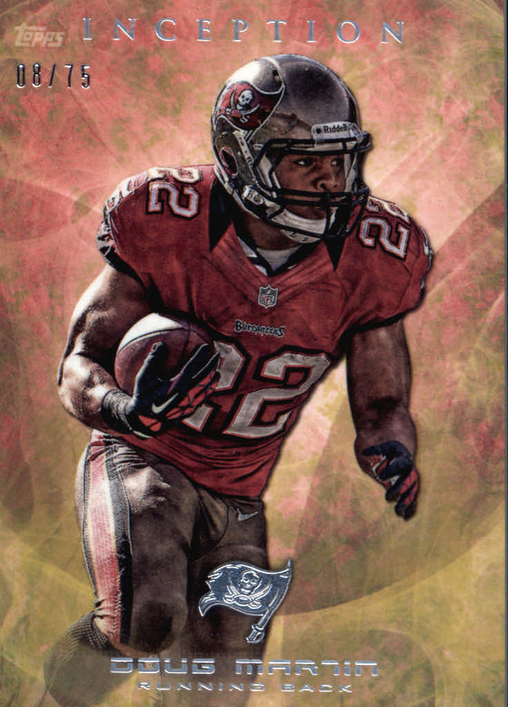 2013 Topps Inception Yellow #89 Doug Martin
