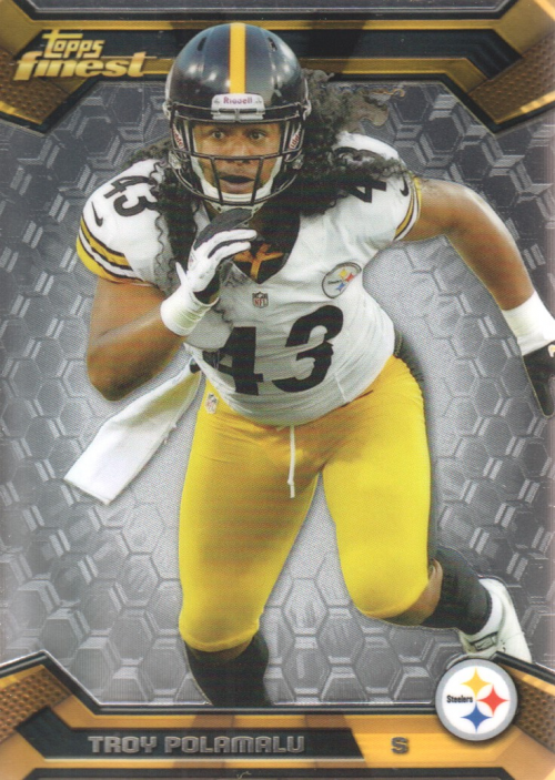 2013 Finest #23 Troy Polamalu