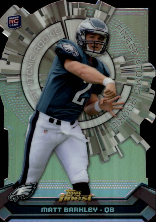 2013 Finest Atomic Refractor Rookies #FARMB Matt Barkley