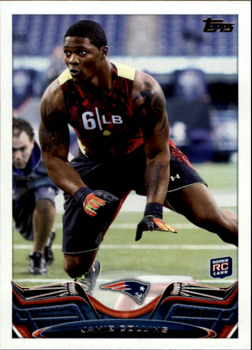 2013 Topps #158 Jamie Collins RC