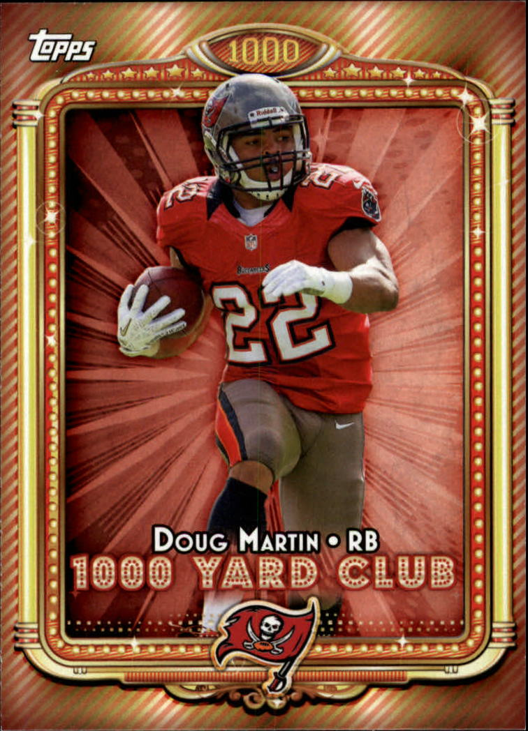 2013 Topps 1000 Yard Club #8 Doug Martin