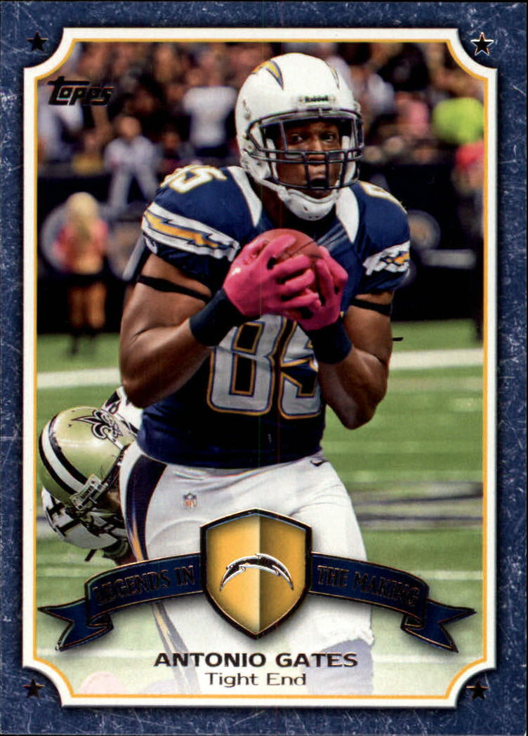 2013 Topps Legends In The Making #LMAG Antonio Gates
