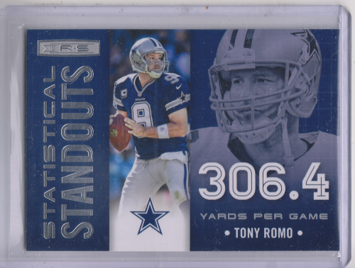 2013 Rookies and Stars Statistical Standouts #3 Tony Romo